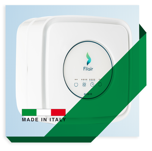 Purificatore d'aria Made in Italy
